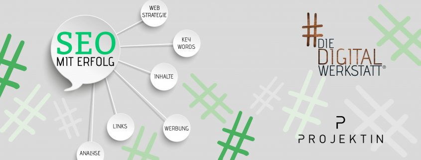 Erfolgreiche Suchmaschinenoptimierung: Vortrag von Annika Leopold (Die Digitalwerkstatt) auf der Projektin im Rahmen der Nürnberger WebWeek (#nueww)