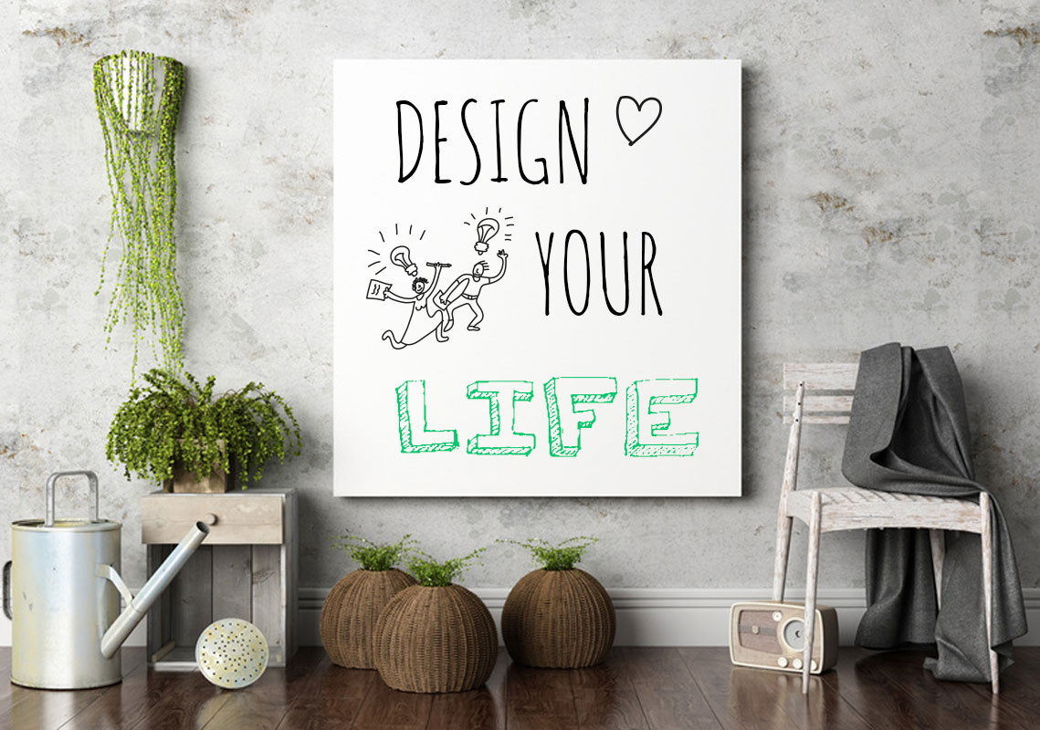Workshop Design Your Life mit Methoden des Design Thinkings von und mit Joanna Zajfert
