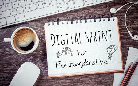 Digital Sprint für Führungskräfte | Stärken Sie Ihre Digitalkompetenzen mit der Digitalwerkstatt