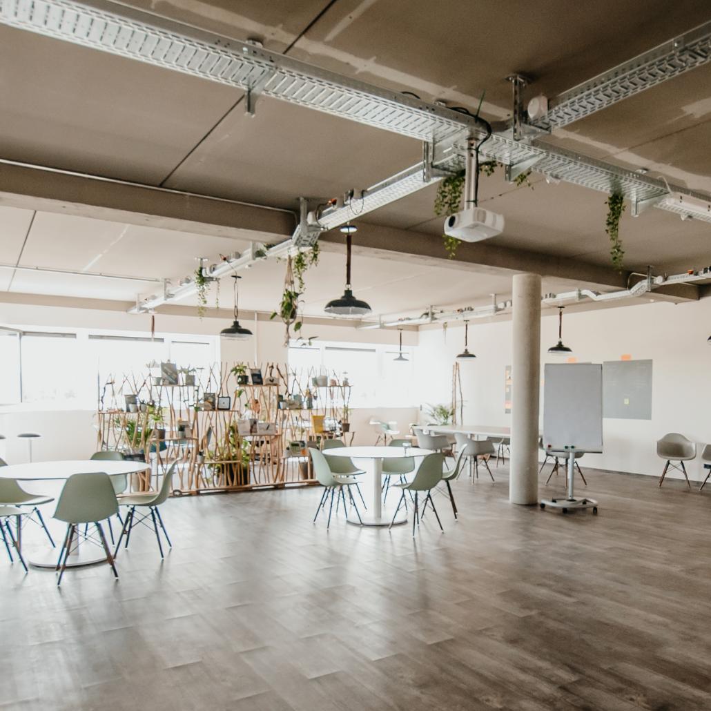 Die Digitalwerkstatt: Kreativraum, Meetingspace oder Off-Site-Location mit und ohne Facilitation buchen
